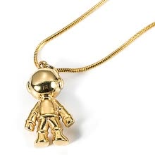 -Women  Fashion Astronaut Pendant Necklace Universe Spaceman Couple Outer Space Jewelry Necklaces on JD