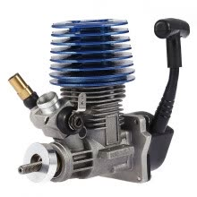 -Cieken Hand Pull Starter Engine 2.49CC 15 Side Exhaust for 1/8 1/10 RC Racing Car on JD