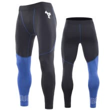 -Men's Fleece Thermal Cycling Pants Padded Bike Bicycle Outdoor Sports Tights on JD