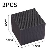 -Reusable activated carbon filter water cube new filter material rapid water purification containing activated carbon adsorption i on JD