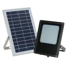 smart-light-bulbs-Solar Powered Floodlight 120 LED Solar Lights IP65 Waterproof Outdoor Security Lights for Home, Garden, Lawn on JD