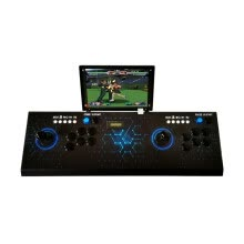 -Pandora S Game Box Arcade 3D Game Two Player 10 inch Screen Rechargeable Game Console 2297 2 in 1 on JD