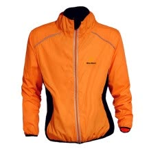 -Cycling Jacket Waterproof Windproof Hiking Zipper Bike Clothes, Orange, xxxL on JD
