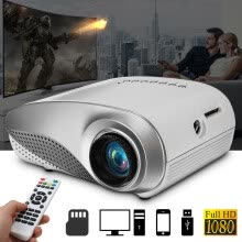 -3D Full HD 1080P Mini Projector LED Multimedia Home Theater USB VGA HDMI TV AV on JD
