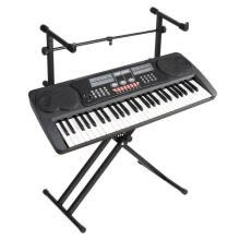 -2-Tiers Double Braced X-Style Keyboard & Piano Stand Adjustable Electronic Music on JD