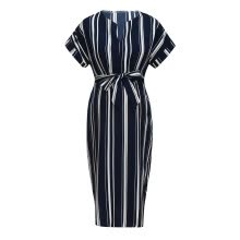 -Women Mom Maternity Pregnancy Dress stripe Dresses Maternity Clothes on JD