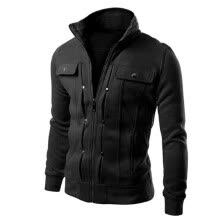-TOP Fashion Mens Slim Designed Lapel Cardigan Coat Jacket on JD