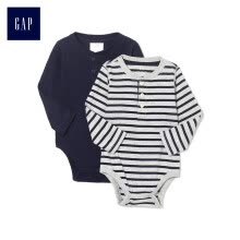 -GAP flagship store children's clothing male baby comfort Henry collar pockets one-piece suit two-piece 374394 navy blue 73cm (6-12 months) on JD