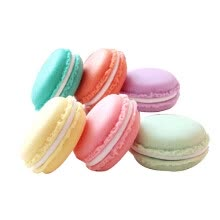 -6pcs Mini Earphone SD Macarons Bag Storage Box Case Carrying Pouch (Random Color) on JD