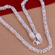 -Jewellery New Fashion 925 Silver Unique Design Woman Mens Necklace on JD