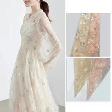 -DIY Floral Flower Embroidery Evening Wedding Bridal Dresses Lace  Trim Fabric on JD