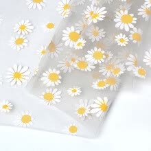 -Small Daisy Mesh Fabric Soft for Clothing Dress Fabric Photo Background Cloth on JD