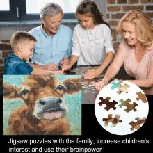 -Piece Puzzle Set 1000PC Adult And Child Space Puzzle Fun Fact 75X50CM on JD