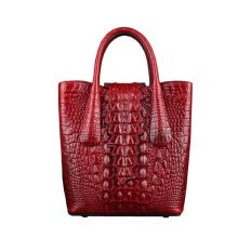 -SUWERER famous brand women Genuine Leather bags for women 2019 new luxury Crocodile embossed bag designer bags handbags on JD