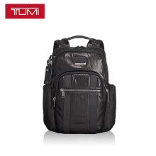 -TUMI way Alpha Bravo series men's business fashion backpack 0932681DL black on JD