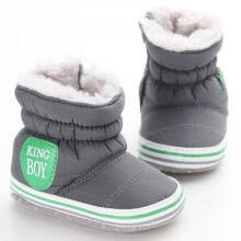 -New Baby Boy Snow Boots Warm Plush Winter Navy Infant Boot Toddler Shoes Soft Prewalker Shoe on JD