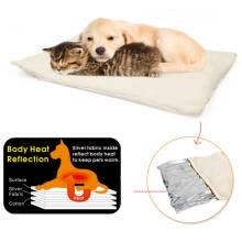 -Pet Dogs Self Heating Mats Puppy Winter Warm Bed House Nest Pads pet Dog Product Supplies Kennel Mats don't Plug on JD