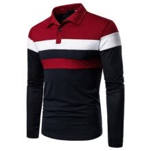 -Long Full Sleeve shirt Unisex Men's Polo Shirt Work Casual Leisure TOP UK on JD
