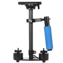 -Carbon Fiber Mini Handheld Handle Grip Video Camera Stabilizer with Quick Release Plate for    Pentax DSLR Camcorder DV on JD