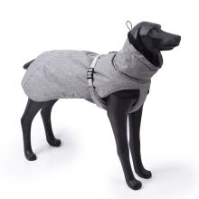 -New Style Dog Winter Jacket With Waterproof Warm Polyester Filling Fabric-(Gary ,Size Xl) on JD