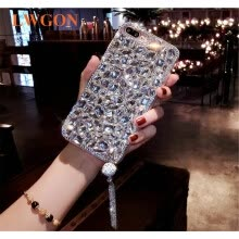 -Luxury Glitter Back Cover Crystal Bling diamond rhinestone Phone case For OPPO A5 on JD