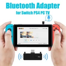 -Audio Transmitter Wireless Adapter Bluetooth 5.0 EDR A2DP Low Latency for Nintendo Switch PS4 TV PC Games on JD