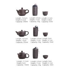 -Buytra Purple Clay Kung Fu Teapot Chinese Porcelain Yixing Zisha Tea Pot 4 Cups Travel on JD