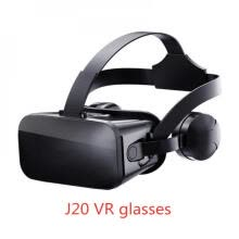 -J20 3D VR Glasses Virtual Reality Glasses for 4.7- 6.7 Smart Phone iPhone Android Games Stereo with Headset Controllers 1 on JD