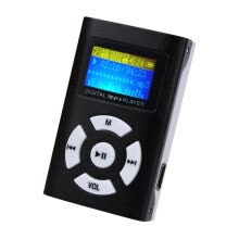 -USB Digital MP3 Music Player Mini Portable Support Micro SD/TF Card Large Screen Display MP3 on JD