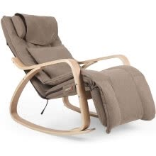 other-massagers-OWAYS Massage Chair, Rocking Recliner, Shiatsu, Hips Vibration and Rolling Massage, Lounge Chair with Removable Cushion Cover on JD