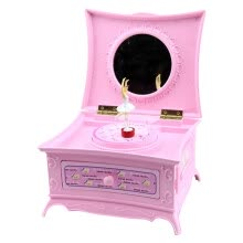 -Music Jewelry Box Dancing Fairy Drawer Music Box Jewelry Storage Box for Girls on JD