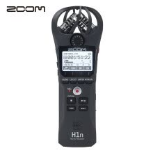 -Japan ZOOM H1n black digital voice recorder / recorder microphone professional noise reduction shooting stereo portable recording equipment musical instrument learning business interview on JD