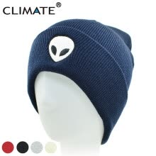 accessories-CLIMATE Men Women Alien UFO Winter Warm Knitted Beanie Outstar Saucer Space E.T Aliens HipHop Soft Hat For Adult Teenagers Boy on JD