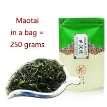 green-tea-New Tea Super Class Chinese Tieguanyin Oolong Tea Recommendation for 2019 Luzhou-flavor 250-carat Chain Bag Packaging of Green Tea on JD