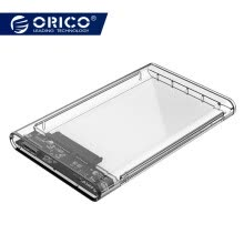 hdd-enclosure-ORICO 2139U3 2.5 inch Transparent USB3.0 to Sata 3.0 HDD Case Tool Free 5 Gbps Support 2TB UASP Protocol Hard Drive Enclosure on JD