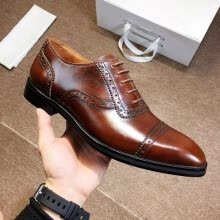 -designer men dress shoes working shoes wedding shoes leather with box receipt dust bags on JD