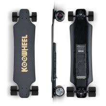 -Koowheel 2nd Generation Motorized Electric Skateboard 40km/h Top Speed Dual Motor Longboard with 2.4G Wireless Remote Control for on JD