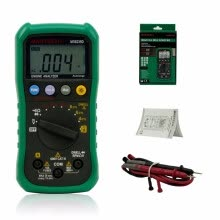 -MASTECH MS8239D Digital Automotive Multimeter And Engine Analyzer Dwell Angle/ Speed 4CYL~8CYL Continuity Test on JD