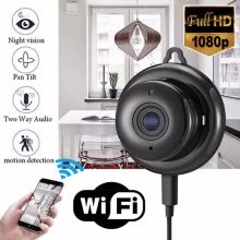 -Full HD 1080P Mini Wireless WIFI IP Camera Night Vision Mini Camcorders Kits for Home Security CCTV on JD