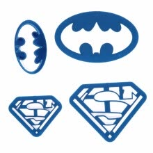 -4PCS Cookie Cutters Super Hero Batman Superman Mould Sugarcraft Fondant Cake Decoration Kitchen Baking Pastry Tools on JD