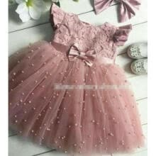 -Flower Girl Dress Wedding Dress Birthday Dress Pageant Dresses Lace Tulle Dress on JD