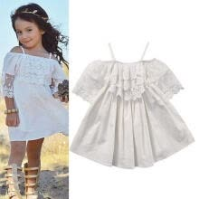 -Lace Girl Princess Dress Kid Baby Party Wedding Pageant Formal Dresses Clothes on JD