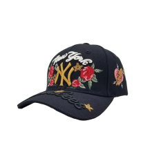 -MLB Major League Baseball Yankees Yankees Baseball Cap NY Cap Male and Female Couple Visor on JD