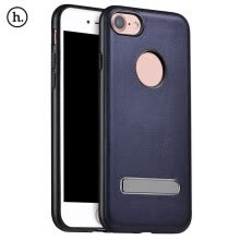 -HOCO Luxury PU Leather Metal Magnetic Stand Protective Skin for iPhone 7 4.7 inch on JD