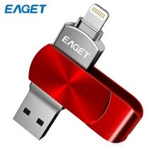 -Флэш-накопитель EAGET i66 USB Type-C USB3.0 OTG Вращающийся дизайн Memory Stick для iPhone 7 Plus / 7 / SE / 6S Plus / 6S / 6 / 5S / 5C / 5 on JD