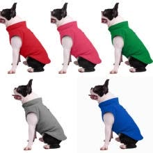 -Pet Dog Fleece Harness Vest Jumper Sweater Coat for Small Medium Dogs Jacket New on JD