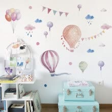 -Kids Room Baby Infant Balloons Wall Sticker Art Vinyl Decals Bedroom Decor DIY on JD