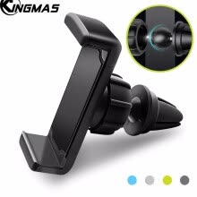-New Universal Car Air Outlet Mobile Phone Holder Flat Mouth Basic Stretching Bracket Universal Mobile Phone Bracket For GPS on JD