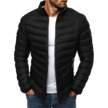 -(Toponeto) Men's Autumn Winter Zipper Warm Down Jacket Packable Light Top Quality Coat on JD