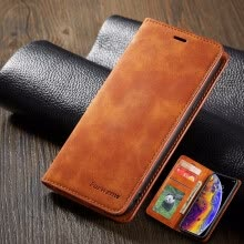 -Leather Flip wallet Phone Case For Samsung Galaxy A6 A7 A8 A750 on JD